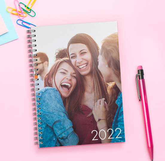 Agenda photo scolaire A5