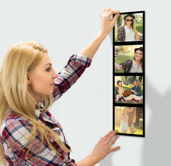 Cadre photo murale - Tableau multi-photos